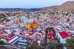 Tempio Companiia dell'università la nostra signora Basilica Guanajuato Mexico Immagini Stock Libere da Diritti