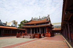 Tempio confuciano di Tainan, Tainan, Taiwan, 2015 fotografia stock libera da diritti