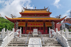 Tempio confuciano a Nagasaki, Giappone Fotografia Stock