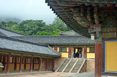 Tempio coreano Immagini Stock
