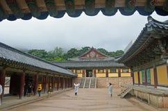 Tempio coreano Fotografie Stock