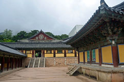 Tempio coreano Fotografia Stock