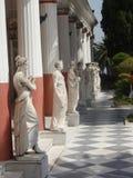 Tempio Corfù di Achille Fotografia Stock Libera da Diritti