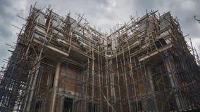Tempio in costruzione di Buddha in Tailandia Immagine Stock