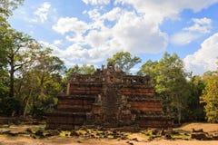 Tempio crollato di Phimeanakas Fotografia Stock Libera da Diritti