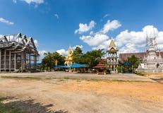 Tempio dalla Tailandia Fotografia Stock