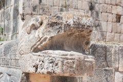 Tempio dei giaguari fotografie stock libere da diritti