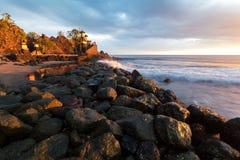 Tempio del bolong di batu di Pura Fotografia Stock