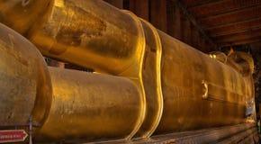 Tempio del Buddha adagiantesi Immagini Stock