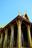 Tempio del Buddha Bangkok Tailandia 0300 Fotografie Stock
