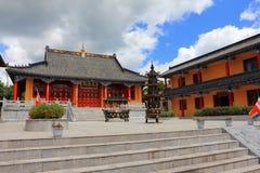 Tempio del cinese tradizionale Fotografia Stock