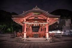 Tempio del cinese tradizionale, Yokohama, Giappone fotografia stock libera da diritti
