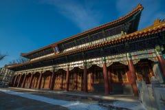 Tempio del confuciano di Harbin Fotografia Stock Libera da Diritti