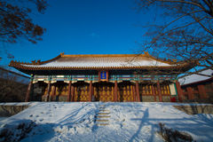Tempio del confuciano di Harbin Fotografie Stock