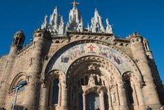 Tempio del cuore sacro - Barcellona Immagine Stock