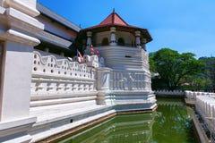 Tempio del dente Buddha a Kandy Sri Lanka Fotografia Stock Libera da Diritti