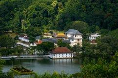 Tempio del dente, Kandy, Sri Lanka Immagine Stock Libera da Diritti