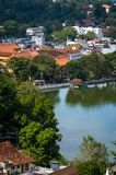Tempio del dente, Kandy, Sri Lanka Fotografia Stock