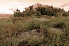 Tempio del ` di Monastyrysche del ` della roccia Fotografia Stock