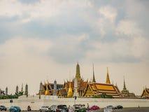 Tempio del kaew di phra di Wat alla città Tailandia di Bangkok Wat Phrakeaw Temple è il tempio principale della capitale di Bangk fotografie stock libere da diritti