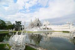Tempio del khun di Rong Fotografia Stock