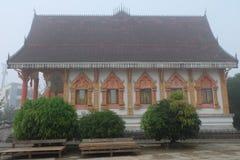 Tempio del Laos Fotografia Stock Libera da Diritti