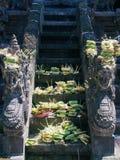 Tempio del lawah di Goa Fotografia Stock