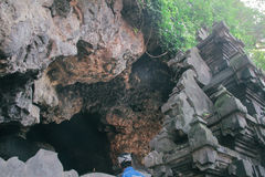 Tempio del lawah di Goa Immagini Stock