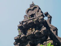 Tempio del lawah di Goa Fotografie Stock Libere da Diritti