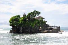 Tempio del lotto di Tanah su Bali Immagini Stock