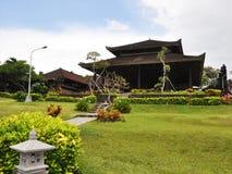 Tempio del lotto di Tanah su Bali Fotografia Stock Libera da Diritti