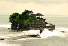 Tempio del lotto di Tanah su Bali Fotografie Stock Libere da Diritti