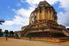 Tempio del luang di Chedi Fotografia Stock