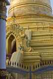 Tempio del Myanmar Fotografie Stock Libere da Diritti