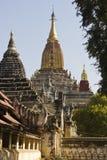 Tempio del Myanmar Immagini Stock Libere da Diritti