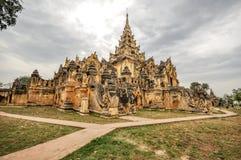 Tempio del Myanmar Fotografia Stock