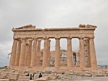Tempio del Partenone Fotografia Stock Libera da Diritti