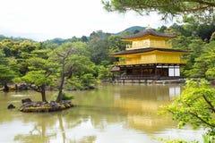 Tempio del Pavillion dorato Fotografia Stock Libera da Diritti