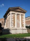 Tempio del Portunus Fotografie Stock