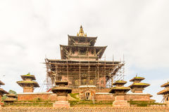 Tempio del quadrato Nepal di Kathmandu Durbar Fotografia Stock