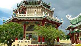 Tempio del taoista a Cebu fotografie stock libere da diritti
