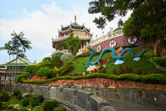 Tempio del taoista di Cebu a Cebu, Filippine immagini stock libere da diritti