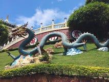 Tempio del taoista di Philipphine Fotografia Stock Libera da Diritti