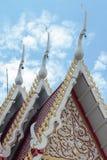Tempio del tetto Fotografie Stock Libere da Diritti