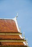 Tempio del tetto di stile tailandese Immagine Stock Libera da Diritti