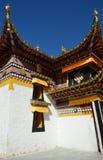 tempio del Tibet Fotografia Stock Libera da Diritti