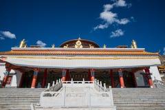 tempio del Tibet Fotografie Stock Libere da Diritti