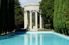 Tempio dell'acqua di Pulgas, California immagini stock libere da diritti