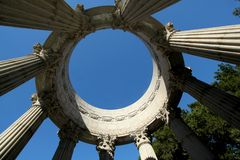 Tempio dell'acqua di Pulgas, California Fotografie Stock Libere da Diritti