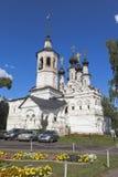 Tempio dell'ascensione del signore da vendere in Veliky Ustyug, regione di Vologda fotografie stock